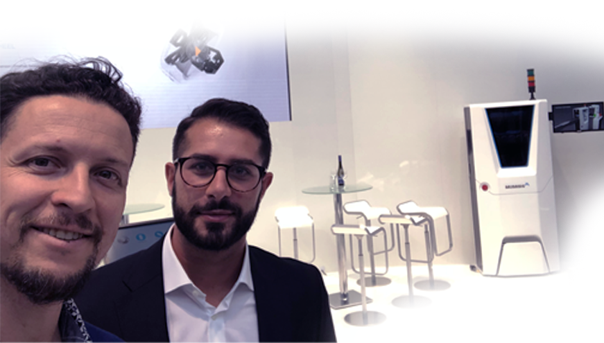 Me & my friend Luca who built the covers in the Frankfurt motor show