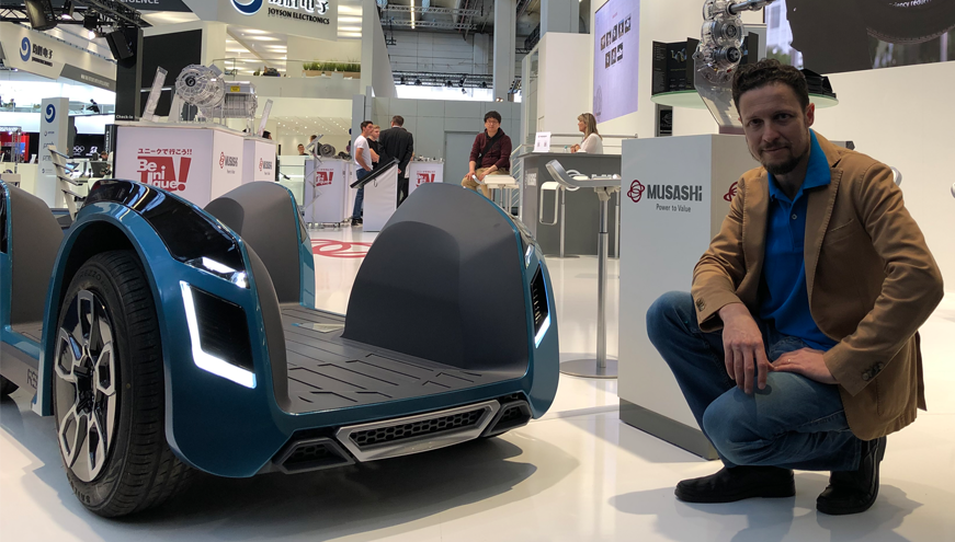 amos boaz with REE at IAA 2019