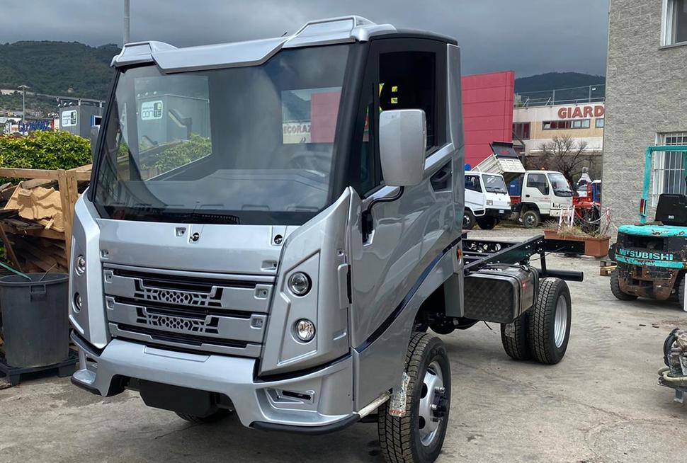 CMAC silver truck